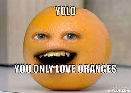 Orange Memes - oranges yolo orange meme generator yolo you only love oranges
