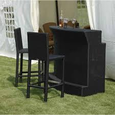 Patio Furniture Bar Set Patio Bar Stools And Table Outdoor Set Kmr3 Cnxconsortium Org