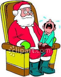 child sitting clipart child crying sitting on santa claus u0027 lap royalty free clipart picture