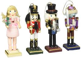 amazon com nutcracker ornaments wood handpainted assorted set
