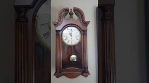 Howard Miller Chiming Mantel Clock Howard Miller Westminster Chime Wall Clock Model 613 227 Strikes