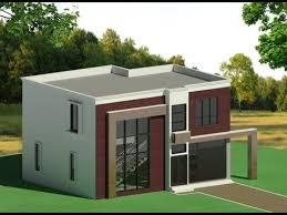 Revit Architecture Modern House Design 2 Youtube Revit Architecture House Design