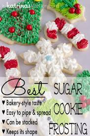 christmas cookie frosting recipe cookie frosting recipe