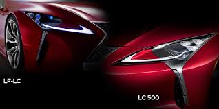 lexus lf lc tail lights lexus lc500 vs lexus lf lc concept styling faceoff technology