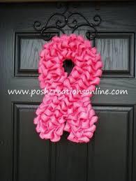 breast cancer ribbon pattern free plastic canvas pattern
