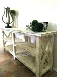 rustic x console table rustic sofa table plans rustic sofa table plans rustic x sofa table