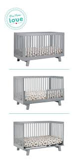 Babyletto Hudson 3 In 1 Convertible Crib Amazing Babyletto Hudson 3 In 1 Convertible Crib With Toddler Rail