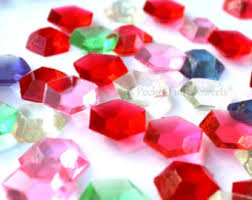 edible candy jewelry candy gems etsy