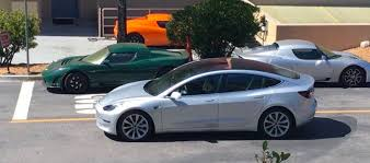 tesla model 3 a new silver release candidate spotted u2013 making it