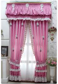 sweet pink bedroom curtains for girls bedroom accessories cute