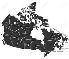 Canada Territories Map by Detailed Vector Map Of Canada Royalty Free Cliparts Vectors And