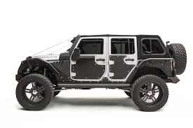 custom jeep white jk fab fours