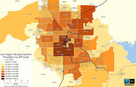 Zip Code Maps by Maptitude Map Daytime Population