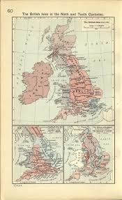 A Map Of England by