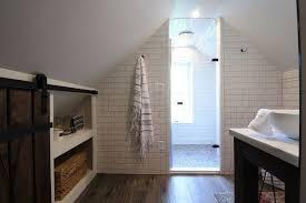 Industrial Chic Attic Bathroom Renovation Hometalk