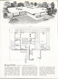 Mid Century House Plans 1010 Best Mid Century Home Plans Images On Pinterest Vintage
