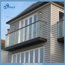 stals balustrade outdoor balcony glass railing designs tempered