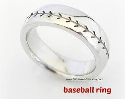 Baseball Wedding Ring by Comfort Fit Wedding Band Elysian Black Wedding Ring For Men