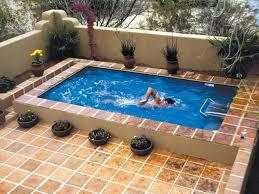 Backyard Pool Designs by Top 25 Best Fiberglass Inground Pools Ideas On Pinterest