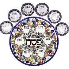 seder set passover seder plates judaica mall