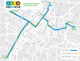 Map Route Changes At Ciclavia New Route New Dates U2013 Streetsblog Los Angeles