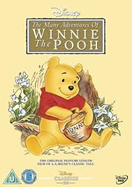 winnie the pooh winnie the pooh the many adventures of winnie the pooh dvd