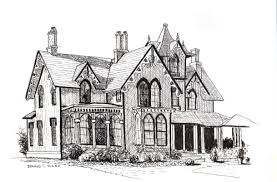 house to draw how to draw a beautiful house in pen and ink online art lessons