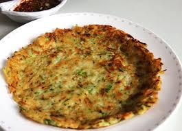 cara membuat pancake kimchi squash pancakes hobakjeon recipe maangchi com