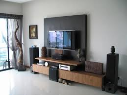 Design For Tv Cabinet Wooden Interesting Home Wall Mount Tv Cabinet Idea Feature Wall Mounted