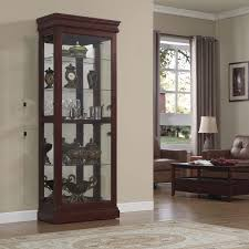 Images Of Curio Cabinets Bello Cc30 9643 X331 Louie Curio Display Cabinet In Louie Philip