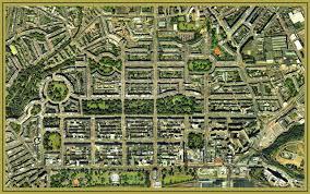 Edinburgh Map Enlargement Of A Map Of Edinburgh New Town 1819 By Robert Kirkwood