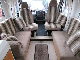 motor home interiors motor caravan furnishings and upholstery