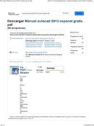 descargar manual autocad 2013 espanol gratis pdf pdf