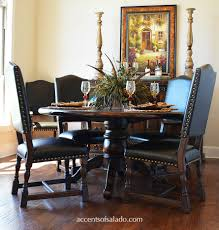 Tuscan Dining Room Furniture by Dining Chairs Old World Parsons Linen Leather
