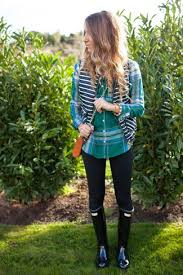 women u0027s navy horizontal striped gilet green plaid dress shirt