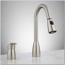 single handle pulldown kitchen faucet with touch2o technology and