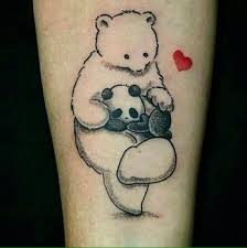 100 baby bear tattoo papa bear mama bear baby bear tattoos