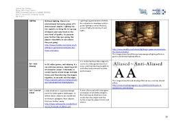 game engine terminology worksheet