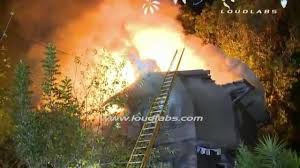 fourplex hillside house fire mount washington raw footage youtube