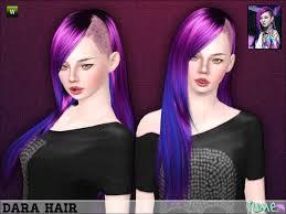sims 4 blue hair mod the sims wcif these hairs