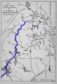 St John Map 1831 Report Of Deane And Kavanagh On The Madawaska Settlement