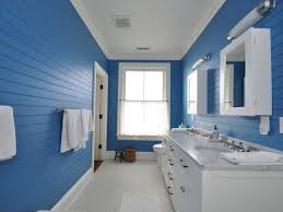 blue bathroom ideas light blue and white stripes fabric curtain