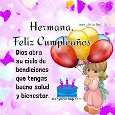 imagenes hermana querida feliz cumpleaños saludos de cumpleaños para una querida hermana entre poemas