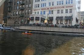 Patio And Things by Rock Bottom Brewery Patio And Milwaukee River Kayaks Flickr