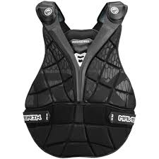 rx lacrosse goalie chest pad