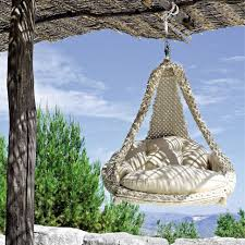 Outdoor Hanging Lounge Chair Outdoor Hanging Chair To Create Comfortable Backyard