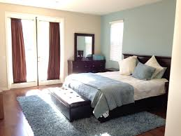 bedroom simple bedroom decoration ideas dark brown wooden bed