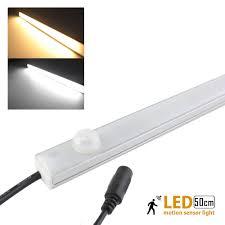led motion sensor light pir body detector 50cm 12v10w led kitchen