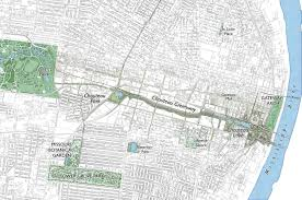 Cardinal Greenway Map On The Future Of The Chouteau Greenway And Protected Bikeways In