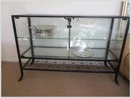 Klingsbo Glass Door Cabinet Ikea Glass Display Cabinet Lock Cabinet Home Decorating Ideas